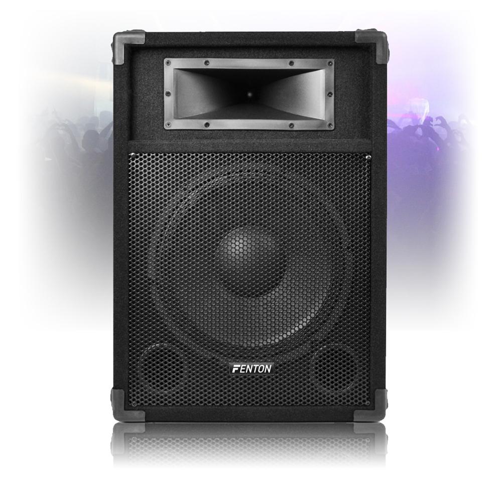 12 csa 12 active powered pa speaker disco dj sound system. Black Bedroom Furniture Sets. Home Design Ideas