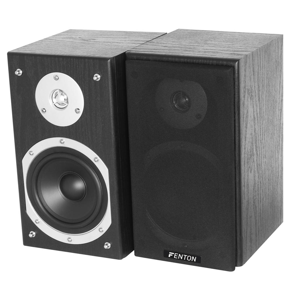 pair black home dj 5 passive reference studio monitors bedroom speakers 140w ebay. Black Bedroom Furniture Sets. Home Design Ideas