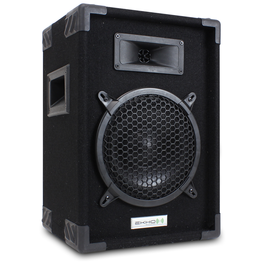 """Best Bedroom Speaker System: Pair 8"""" Passive Speakers Bedroom DJ Home Audio Stereo Hi"""