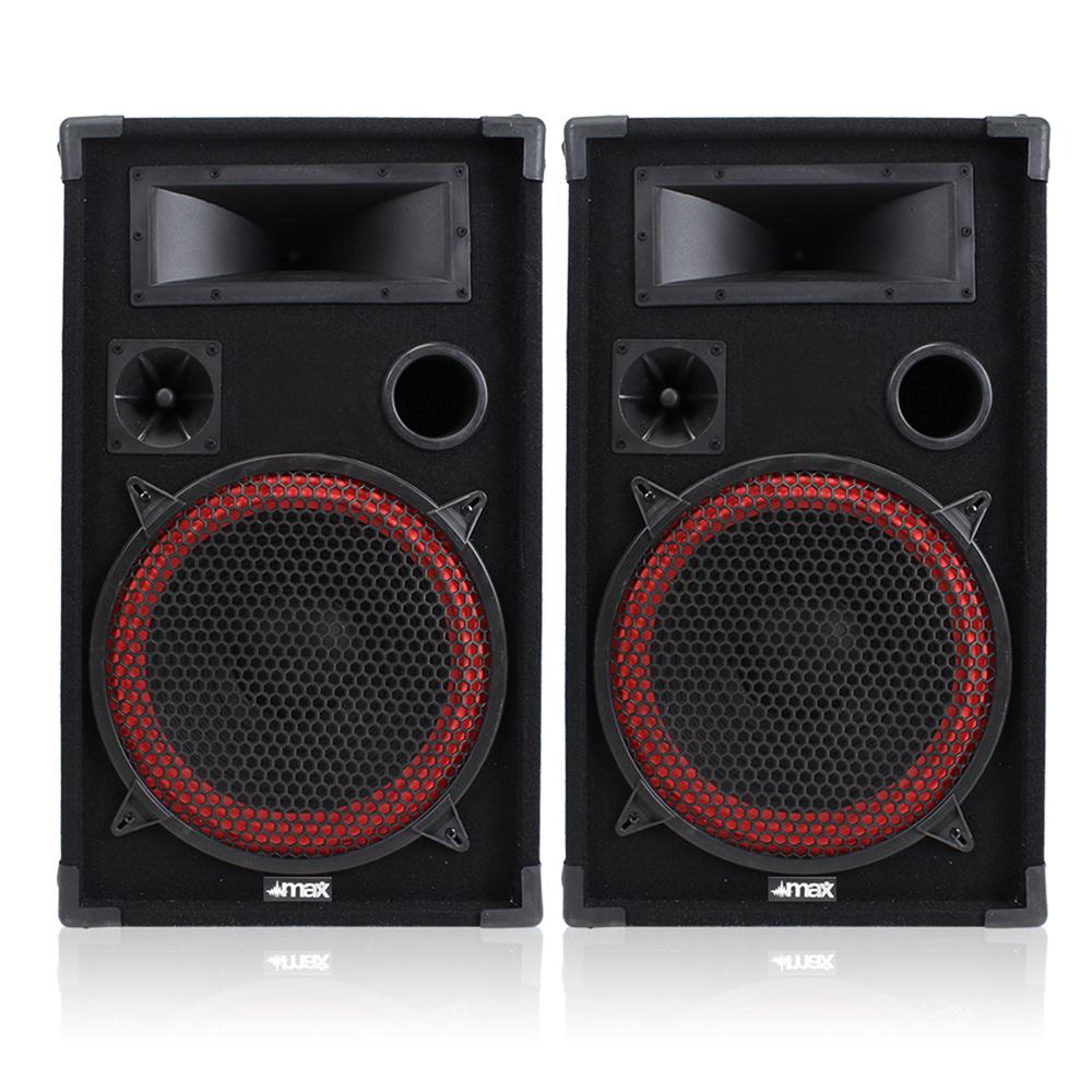 "Pair of Skytec 12"" Passive Speakers 700W"