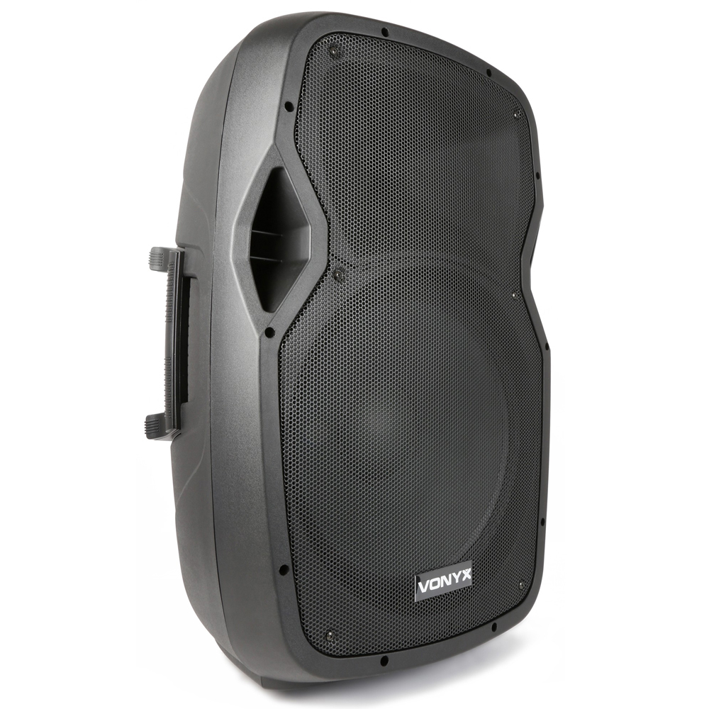 vexus active powered dj pa speaker wireless bluetooth audio streaming 15 800w ebay. Black Bedroom Furniture Sets. Home Design Ideas