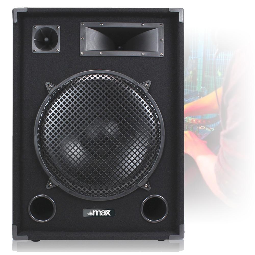 complete 15 pa dj party disco sound system speakers amplifier mixer 2000w ebay. Black Bedroom Furniture Sets. Home Design Ideas
