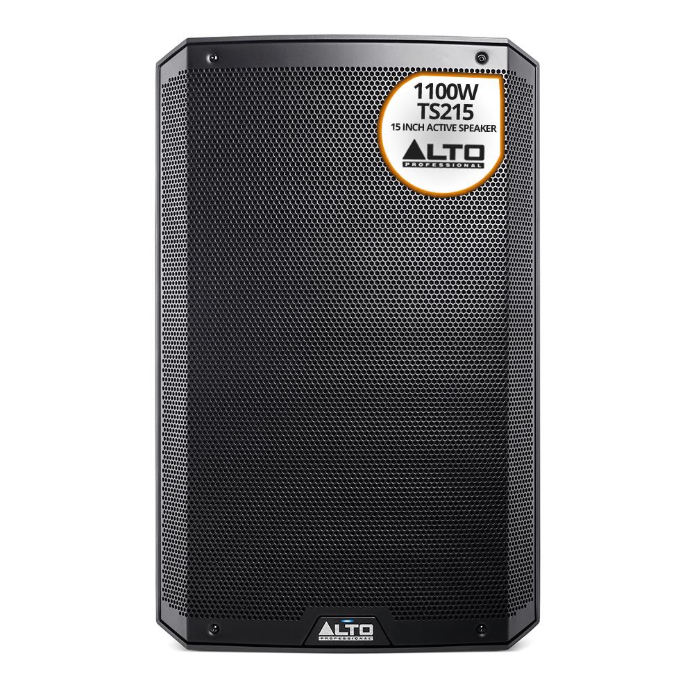 Alto Truesonic 2 Series TS215 DJ PA Active Powered 15 Inch Speaker ...