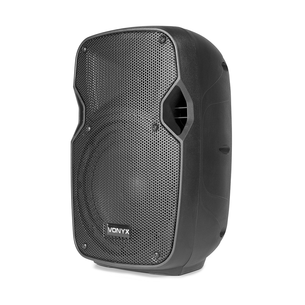 vonyx ap800a active powered pa speaker small dj monitor 8 woofer 200 watt ebay. Black Bedroom Furniture Sets. Home Design Ideas