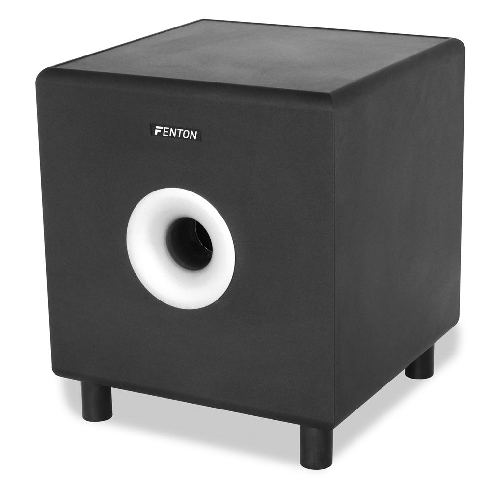 Fenton SHFS08B 8 inch Home Hi-Fi Active Subwoofer