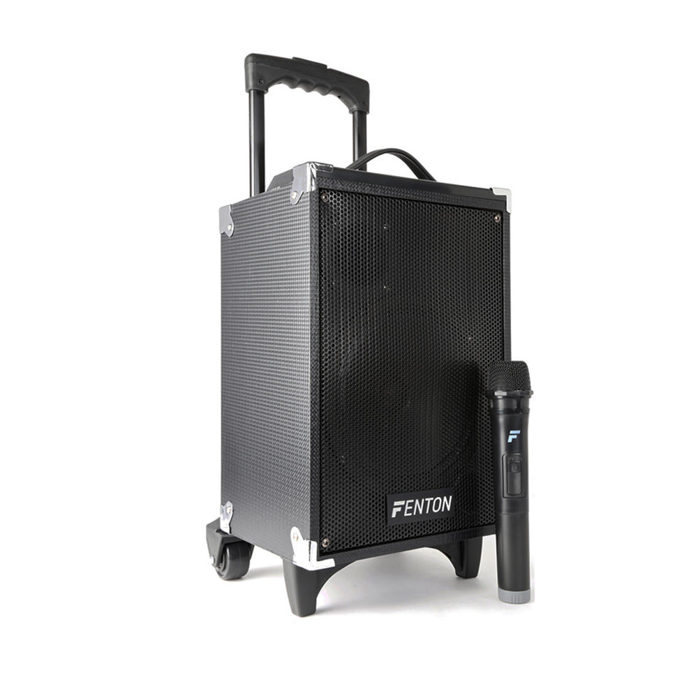 Fenton ST050 Portable PA System with Bluetooth + Wireless Mic