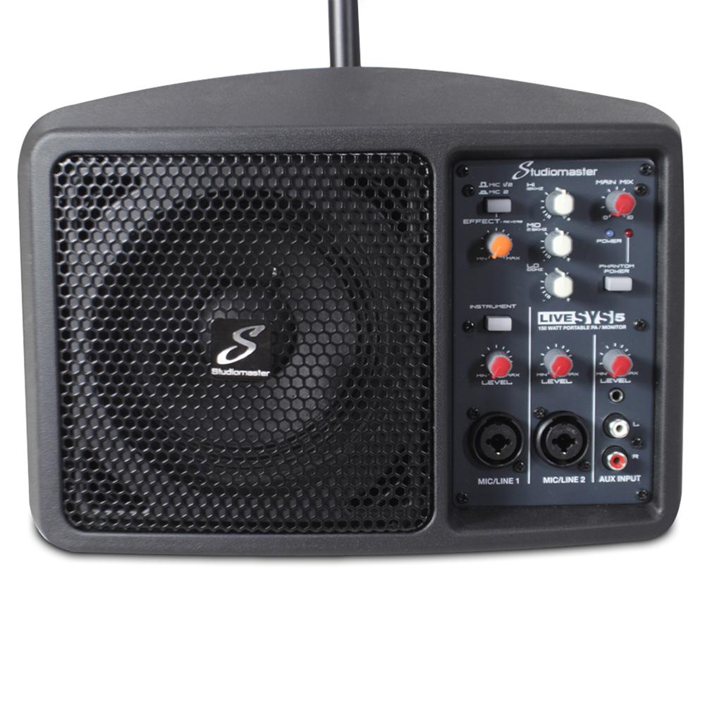 Small Portable Pa System : studiomaster livesys5 150w portable pa system microphone speaker small compact ebay ~ Hamham.info Haus und Dekorationen