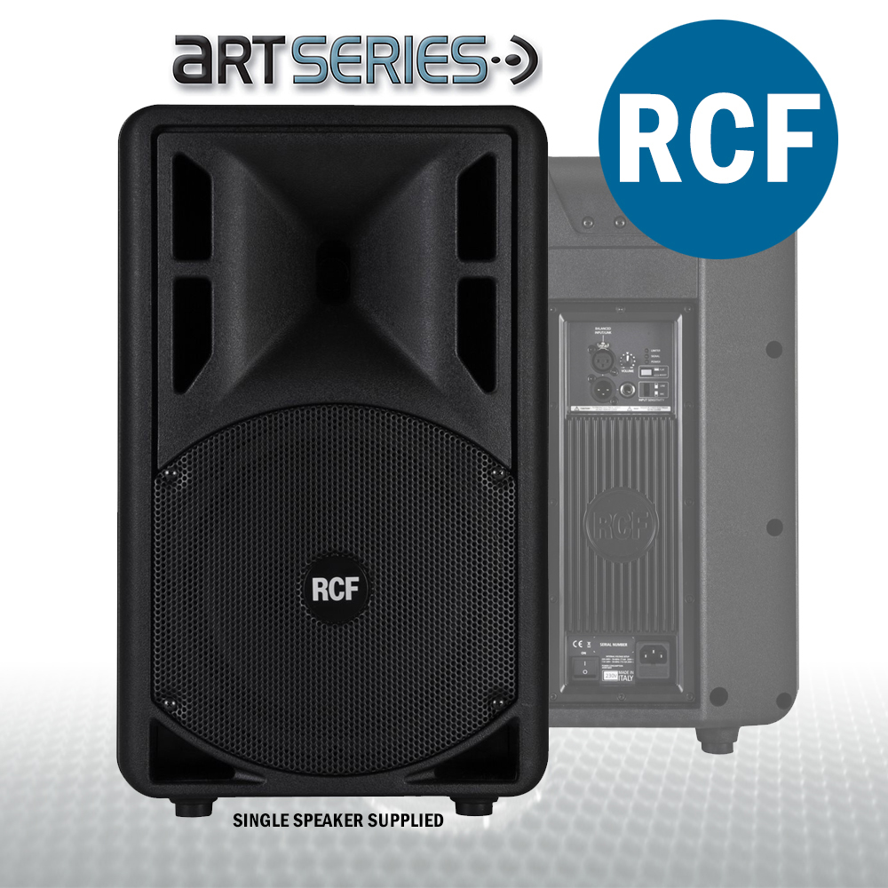rcf art 310 a mkiii active speakers dj live sound pa system 800w with stands ebay. Black Bedroom Furniture Sets. Home Design Ideas