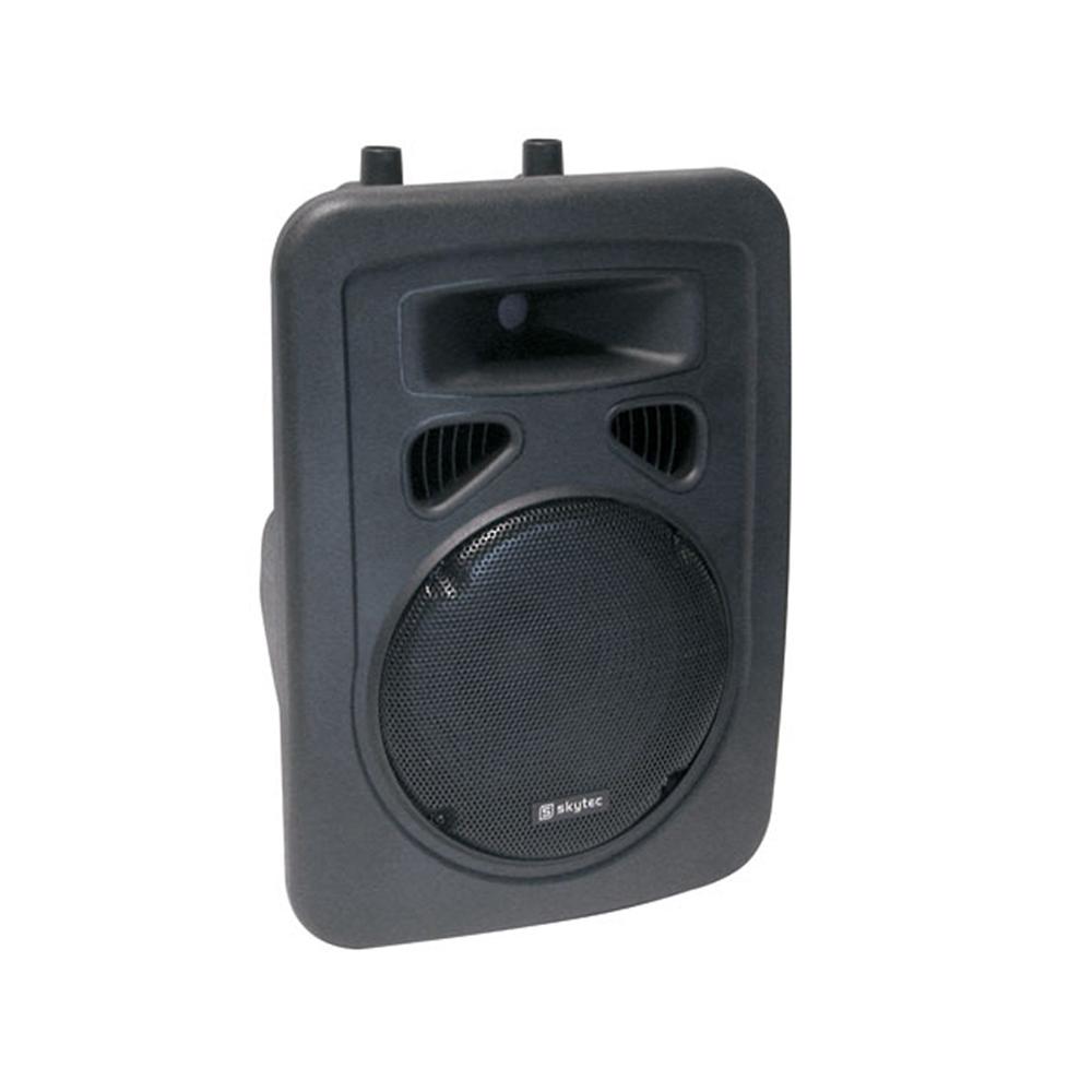 "Skytec Speaker SP1000 PA Mobile DJ Disco Karaoke Party Loudspeaker 10"" 300W"