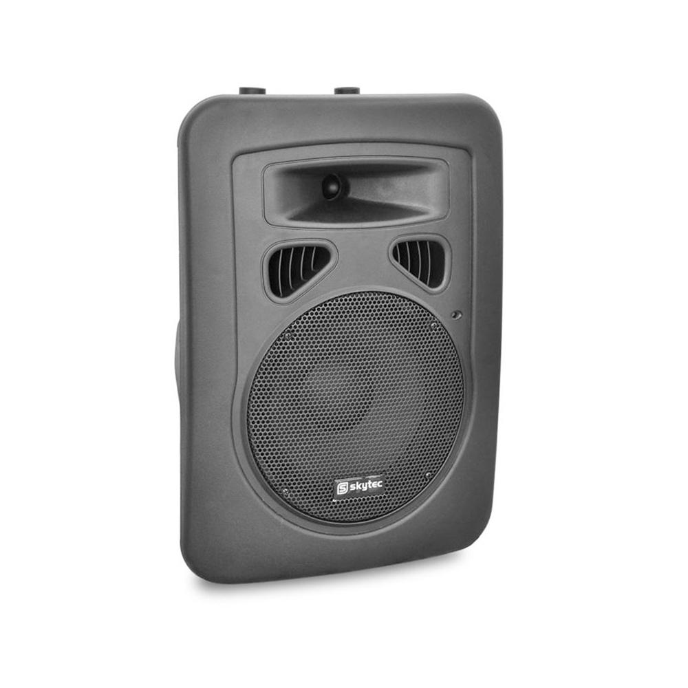 "Skytec Speaker SP800A Small Mixer Amplifier PA Mobile DJ Disco Karaoke 8"" 200W"