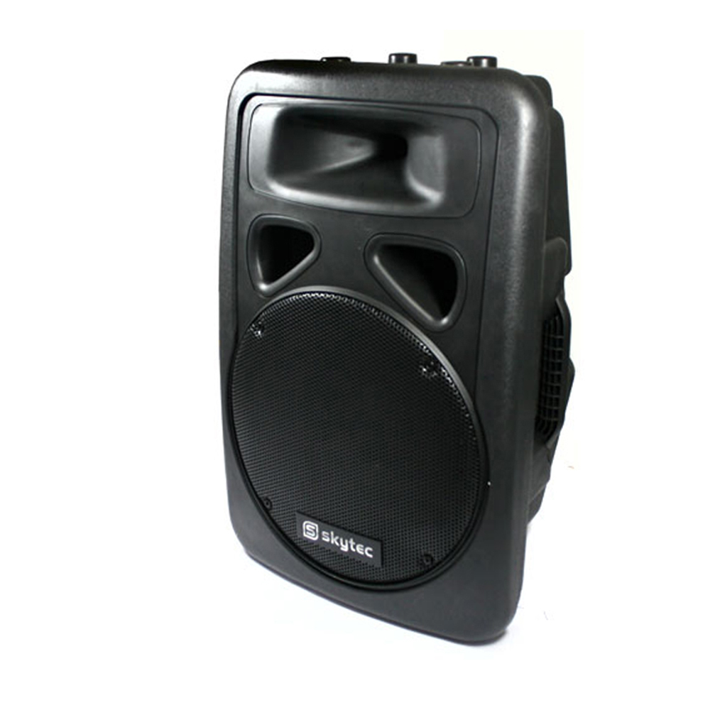 "Skytec Speaker SP1200 PA Mobile DJ Disco Karaoke Party Loudspeaker 12"" 400W"