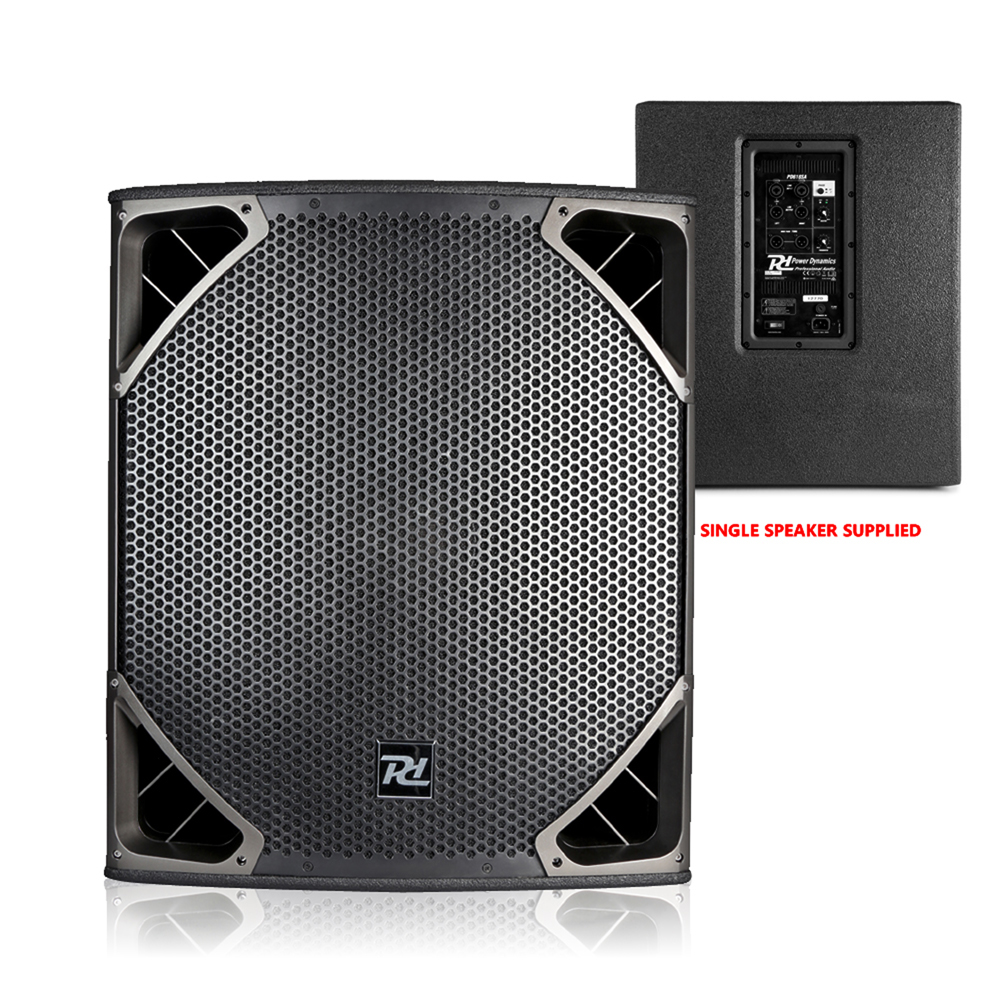 pa system setup dj club install twin 15 speakers 18 subwoofers 3000w powerful 5056141305462 ebay. Black Bedroom Furniture Sets. Home Design Ideas