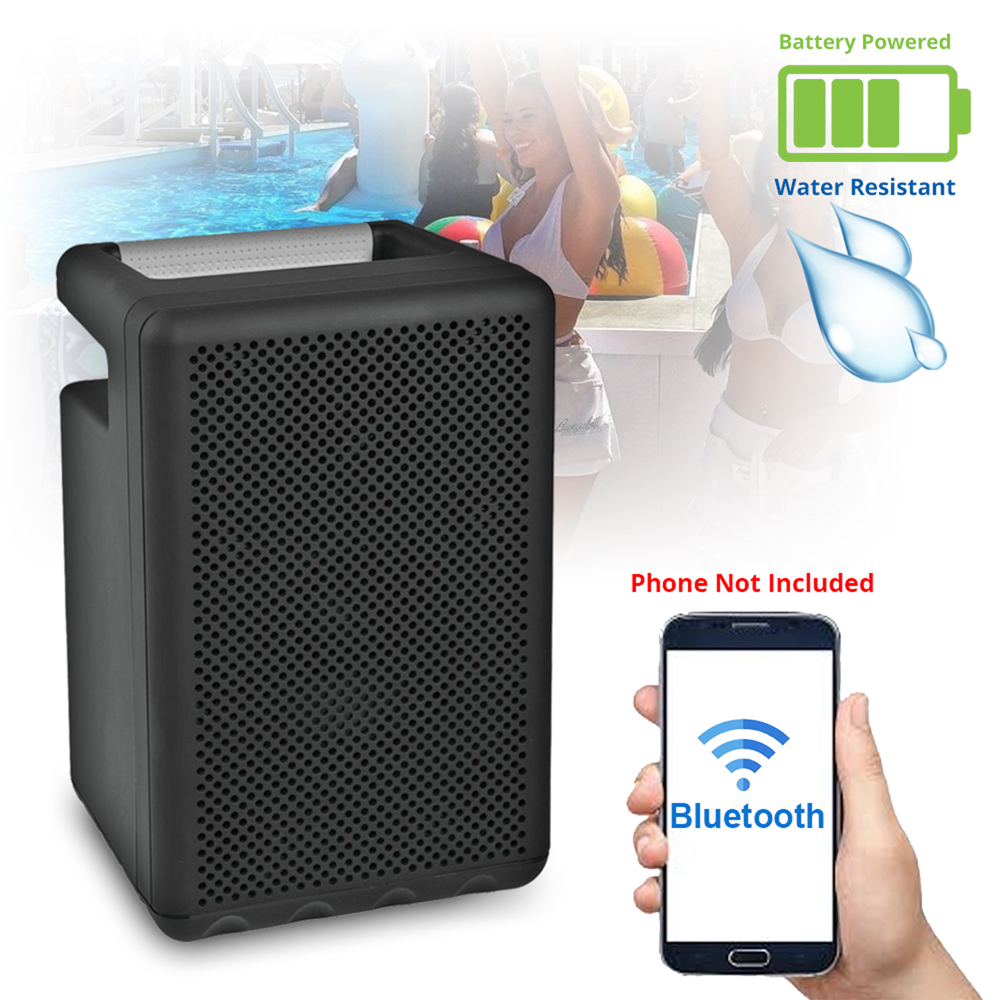 Outdoor Bluetooth Speaker System Rechargeable Battery