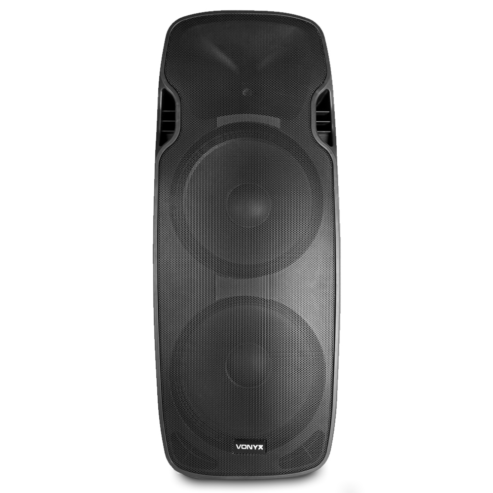 Vonyx 170.349 AP215ABT Dual 15 Inch Active Bluetooth DJ Speaker
