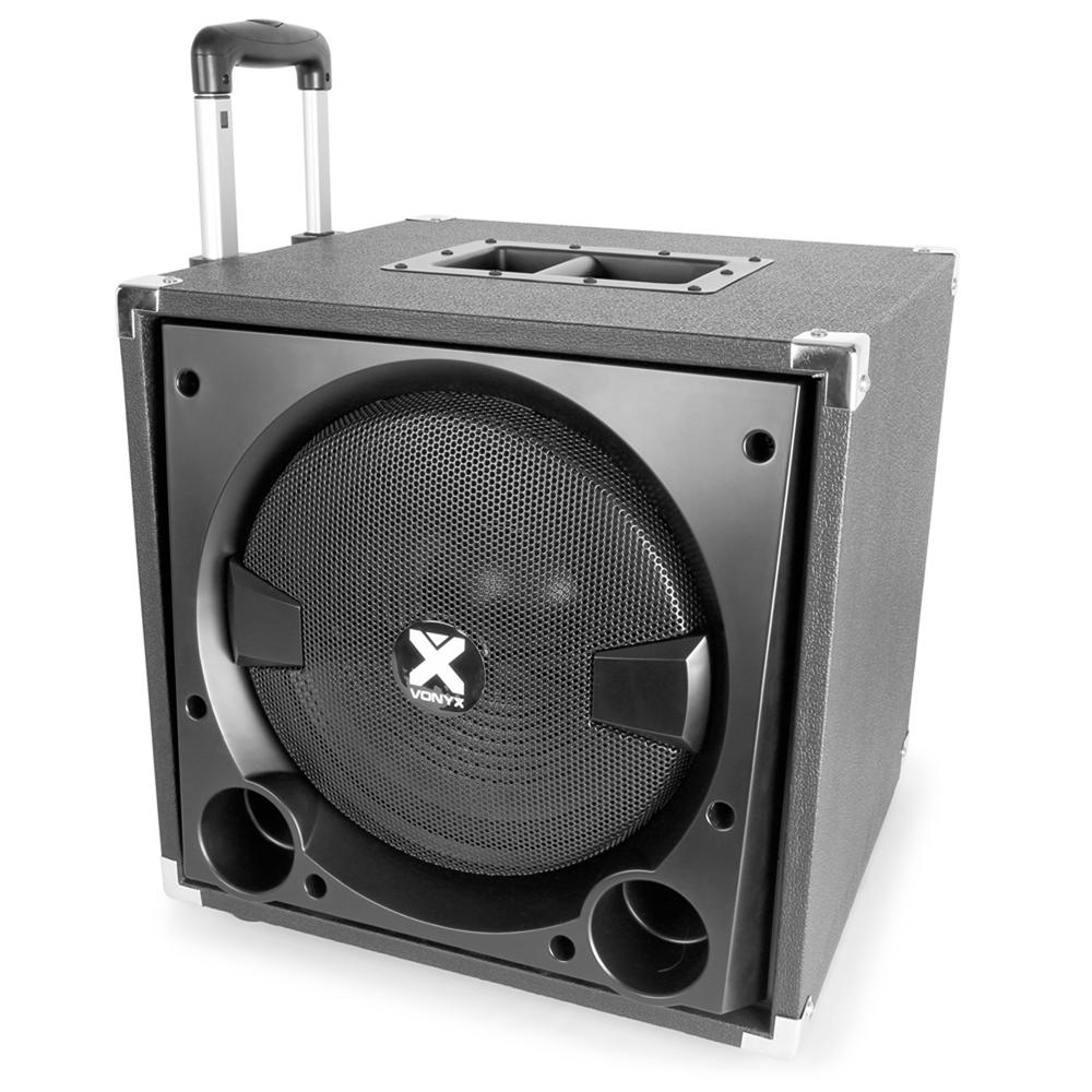 active powered pa speaker sound system for mobile dj disco setup 12 subwoofer 5056141363479 ebay. Black Bedroom Furniture Sets. Home Design Ideas