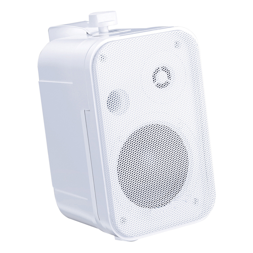 E-Audio B418 3.5 White 2 Way Mini Speakers 100W
