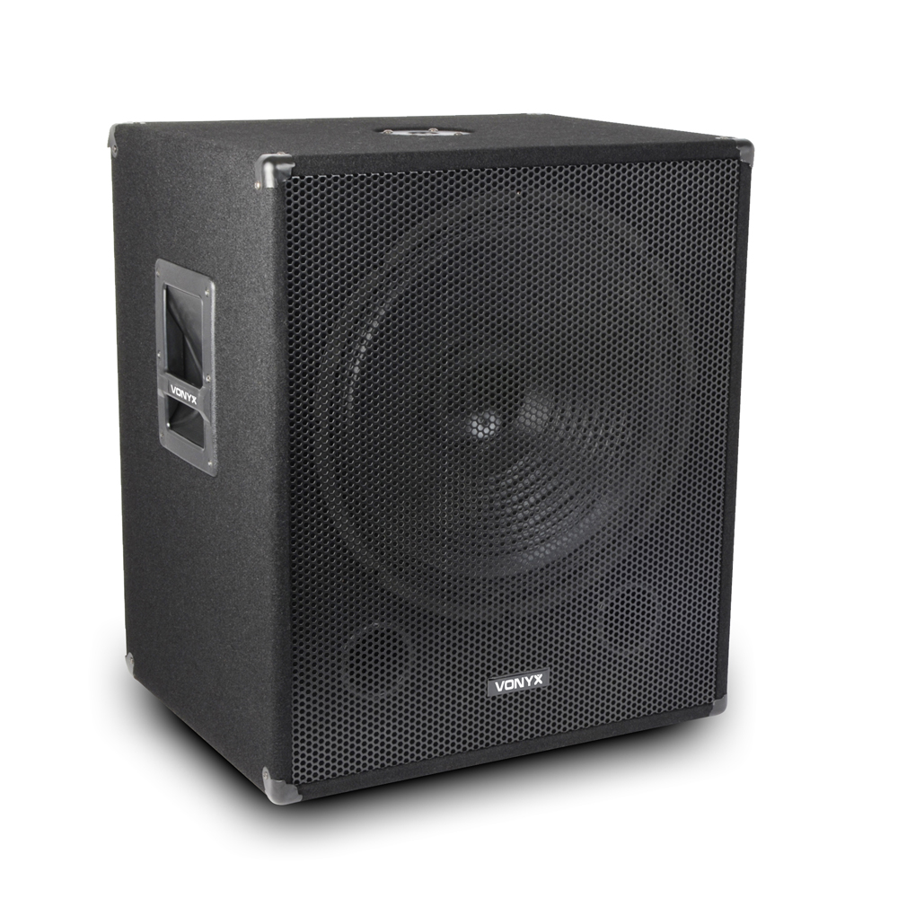 speakers and amplifier pa dj disco package 15 tops 18. Black Bedroom Furniture Sets. Home Design Ideas