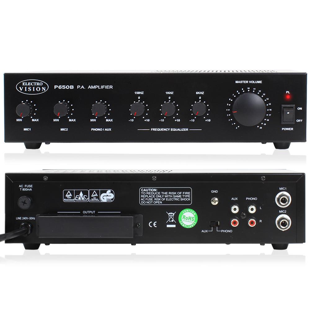 10x bosch 100v line speaker amp background music system essex ebay. Black Bedroom Furniture Sets. Home Design Ideas