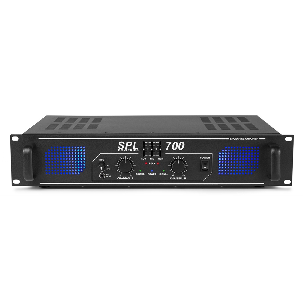 Skytec SPL-700 2 Channel Power Amplifier