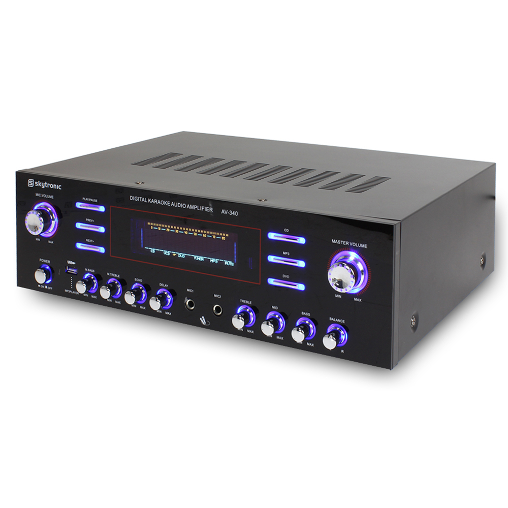 Home Audio Hifi Speaker Amplifier Surround Sound MP3 USB