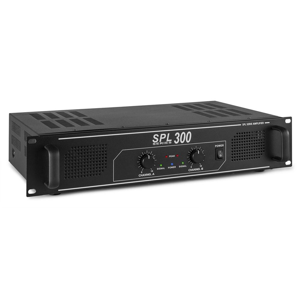 Spl 300w 2 Channel Power Amplifier Dj Party Disco Pa Hi Fi