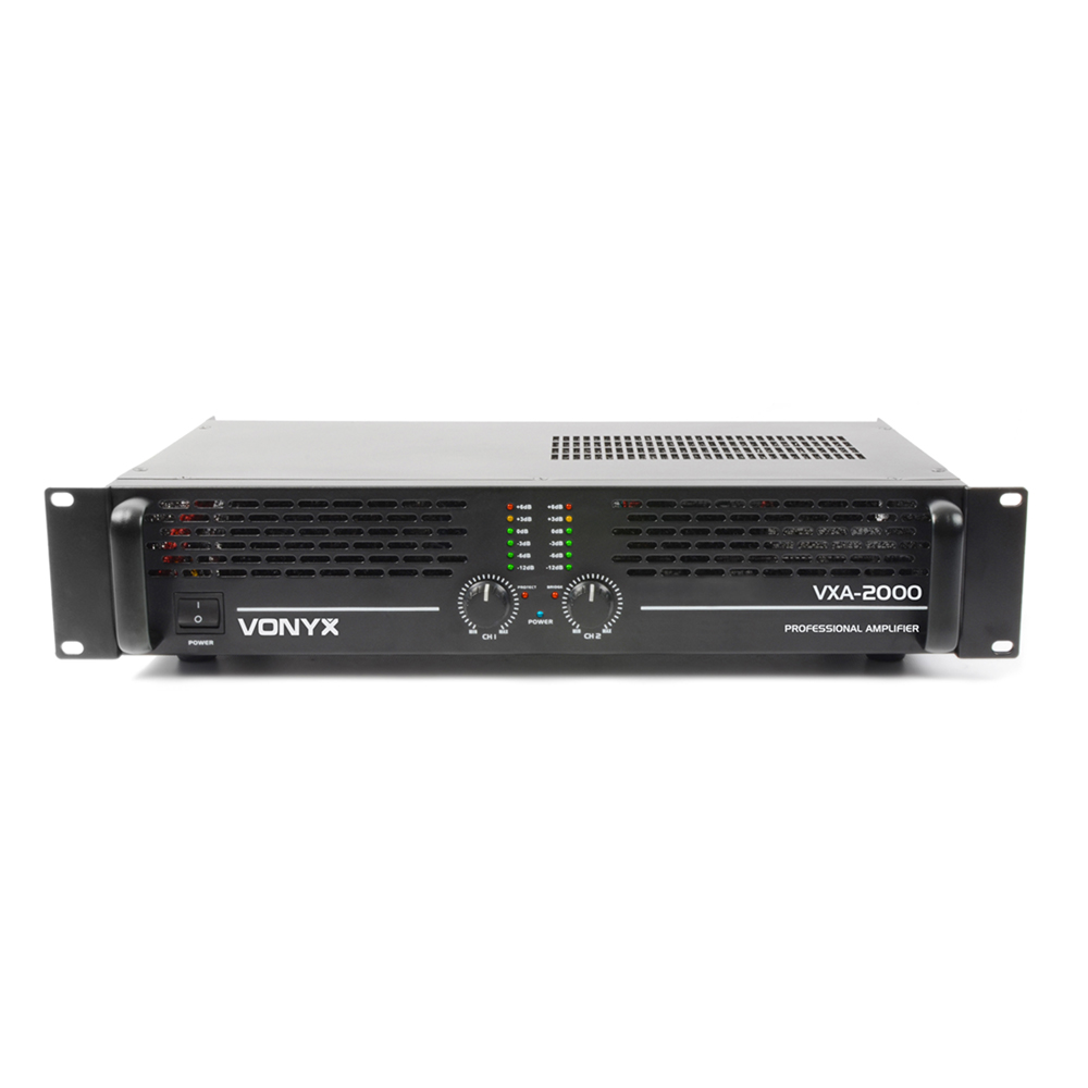 Vonyx VXA-2000 MKII 2 Channel Power Amplifier