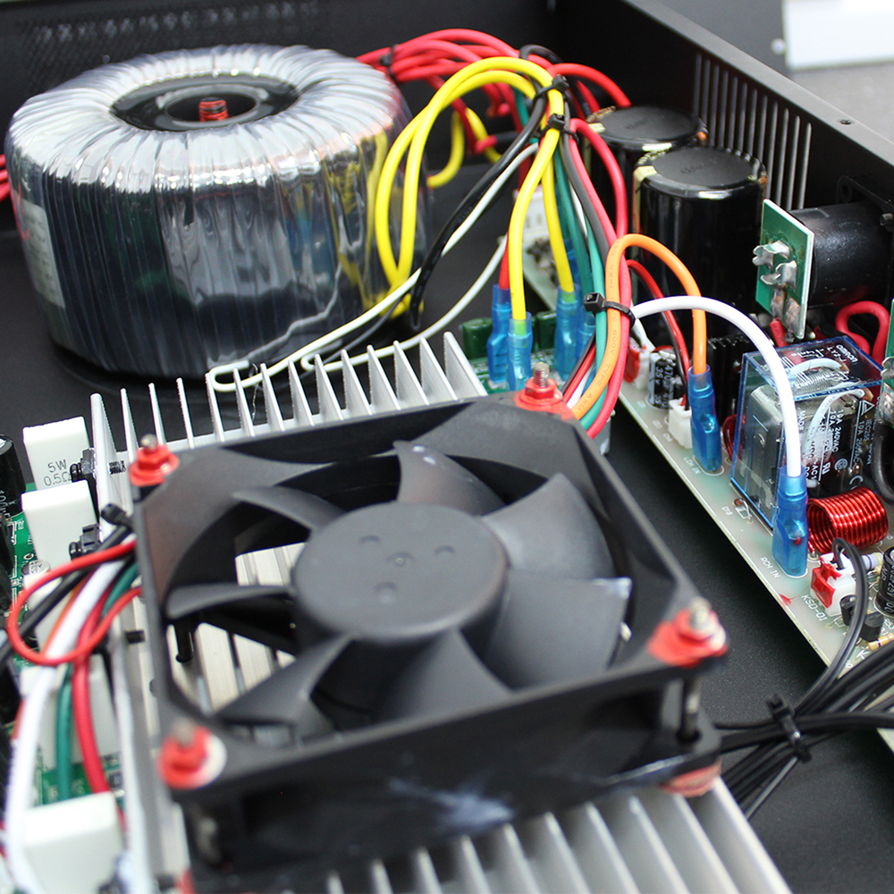 Vxa 2000 Dj Power Amplifier 2 Channel Stereo Amp Bridge Pa