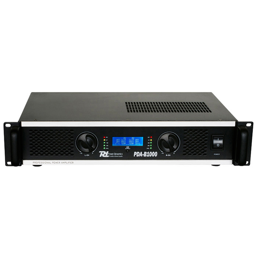 PDA-B1000 Professional Amplifier High Output PA DJ Club Disco Bridge Amp 1000W