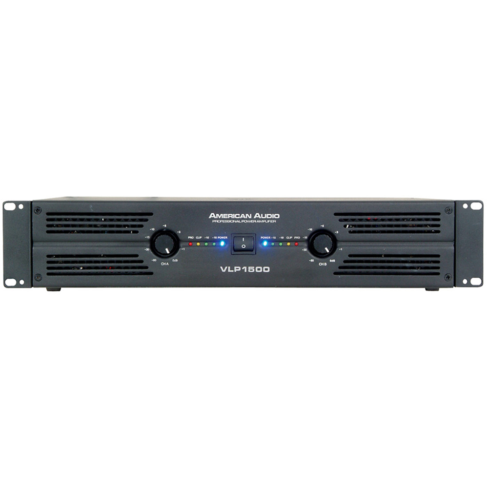 American Audio VLP1500 Power Amplifier 1500 Watt RMS 1141000011