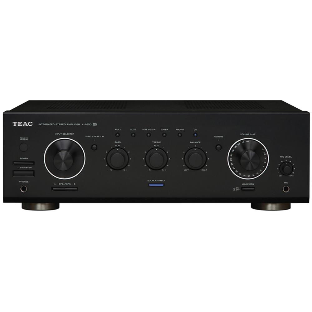 Teac TE075 AR650 Stereo Mixer A/V Amplifier 190W