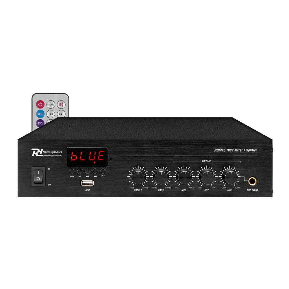 PD PDM45 100V Bluetooth Mixer-Amplifier