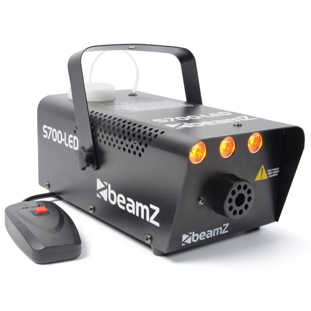 BeamZ S700-LED Smoke Machine with Amber LED Light