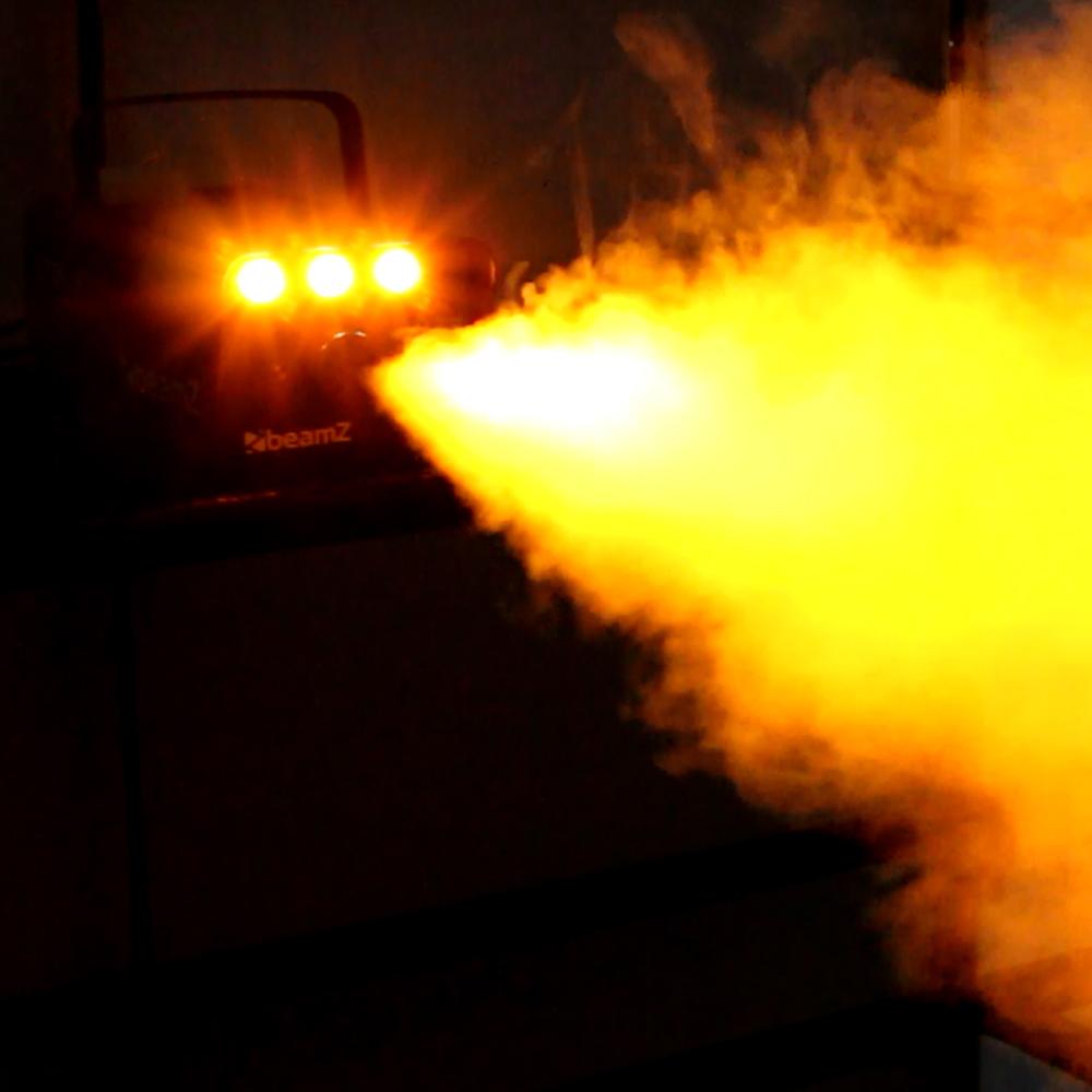 Beamz S700 Smoke Machine With Fire Flame Effect Dj Disco