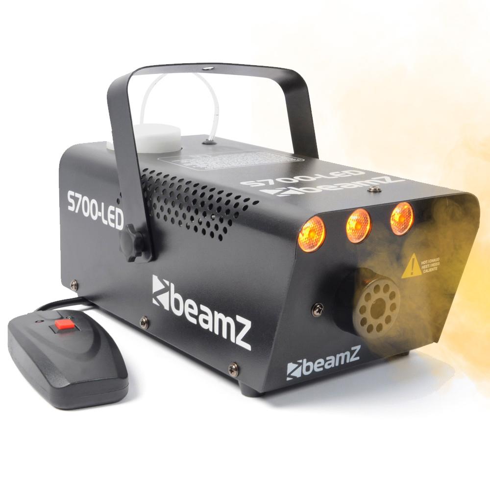 BeamZ S700 Smoke Machine with LED Flame Effect