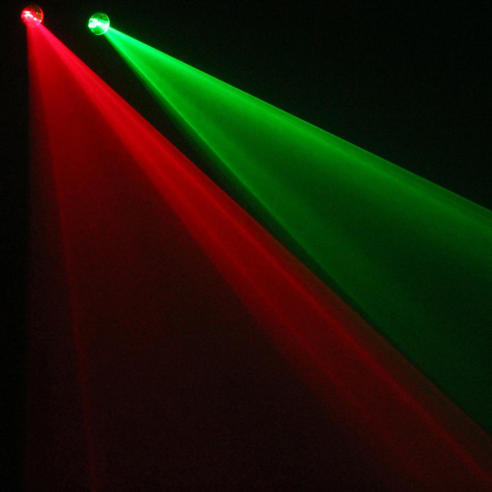 3D Laser Light Effect Red Green DMX Mobile DJ Disco Party Lighting 320m