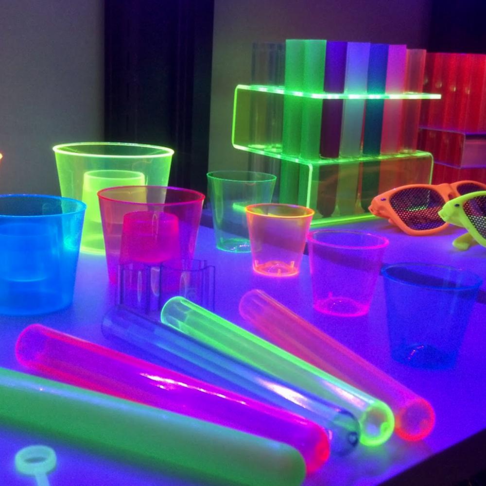 Beamz Uv Strip Light Fluorescent Blacklight Tube 60cm