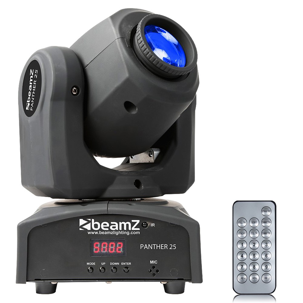 BeamZ Panther25 LED Moving Head Light