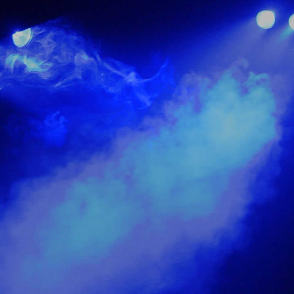 color smoke machine