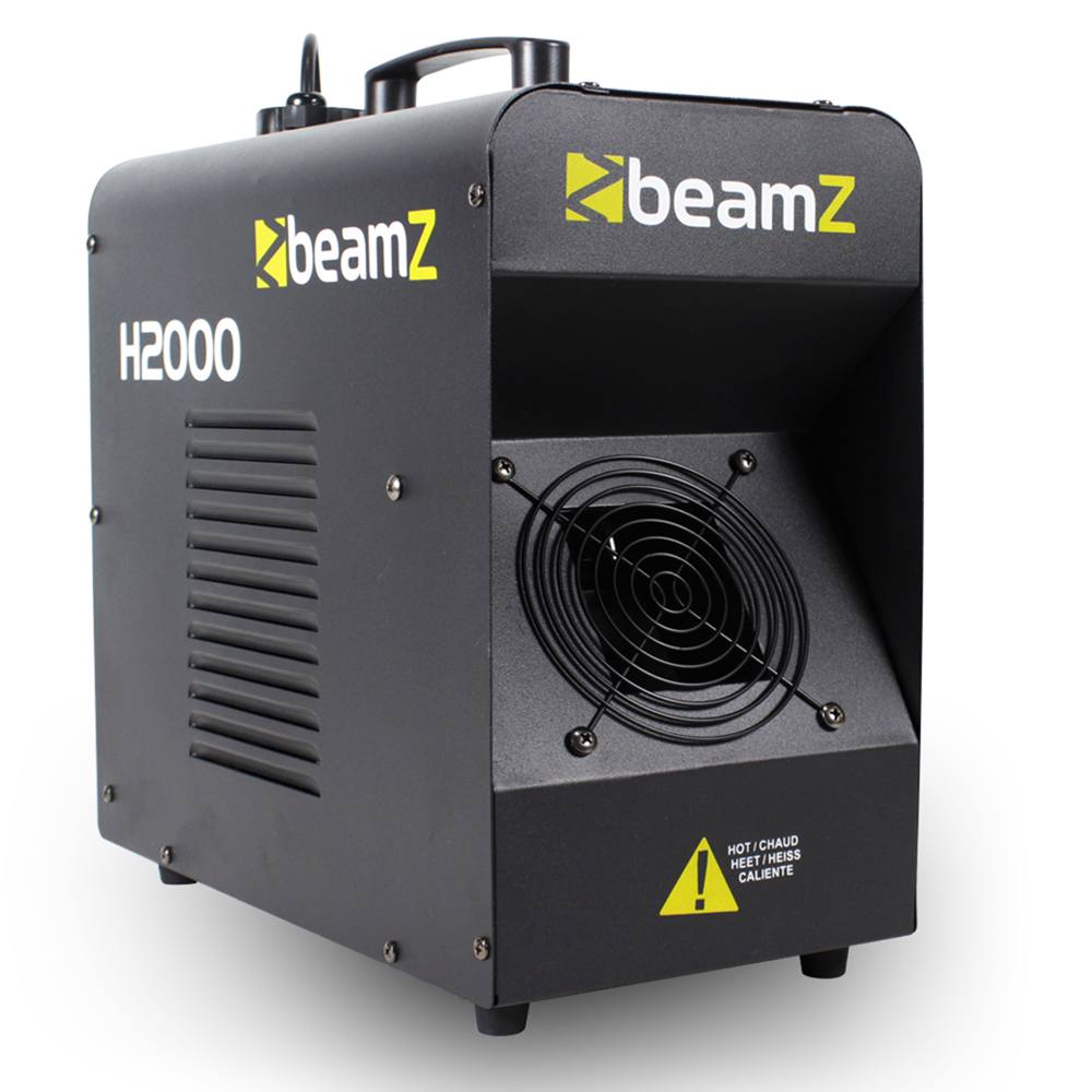 Beamz H2000 DMX LCD 2000W High Power Haze Mist Fog Machine