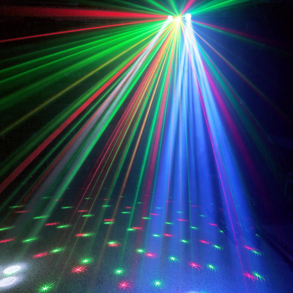3 In 1 Effects Dual Lense Led Mobile Dj Disco Laser
