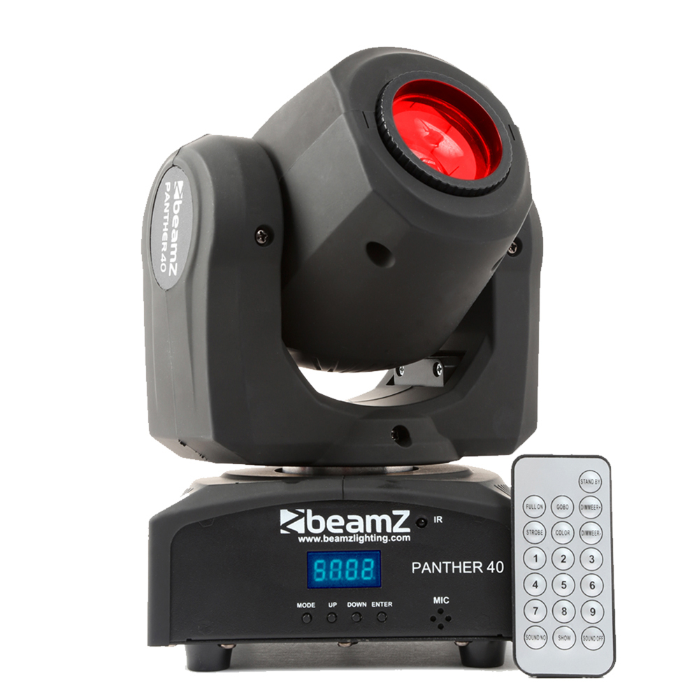 BeamZ Panther40 LED Moving Head Light