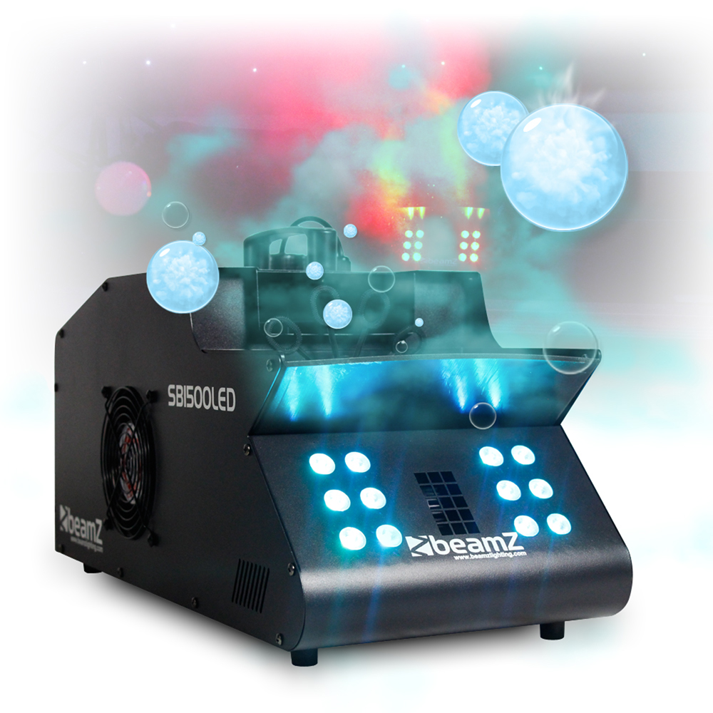 dmx smoke bubble machine colour led lights high output fog professional dj disco ebay. Black Bedroom Furniture Sets. Home Design Ideas