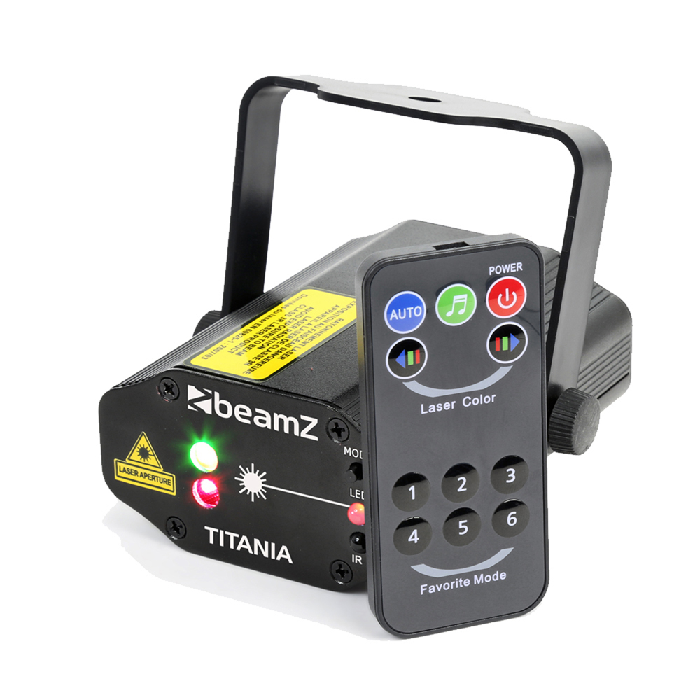 BeamZ Titania Double Red Green Laser