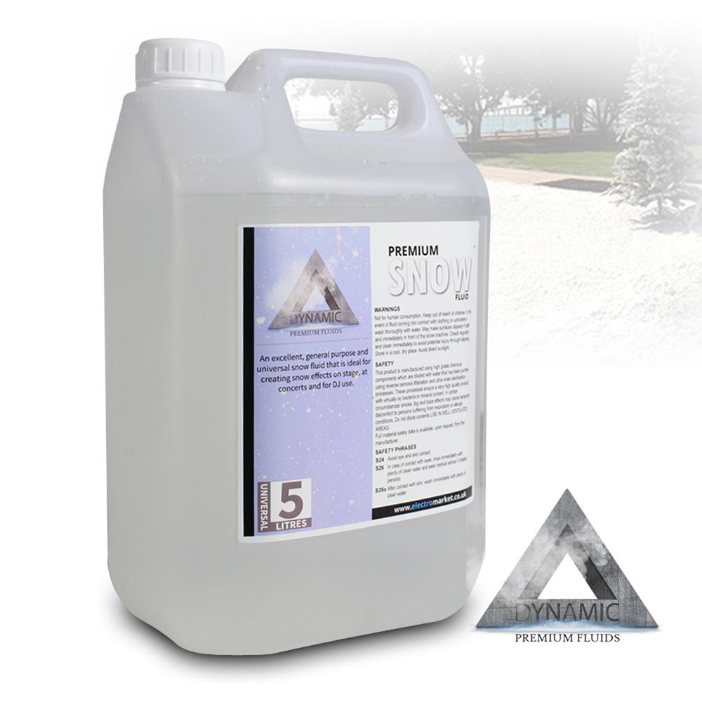 Dynamic Premium Snow / Foam Machine Fluid 5L Liquid ...