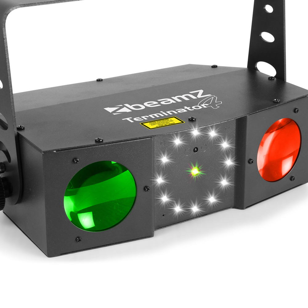 Beamz 153 716 Terminator Iv Led Dj Disco Double Moon With