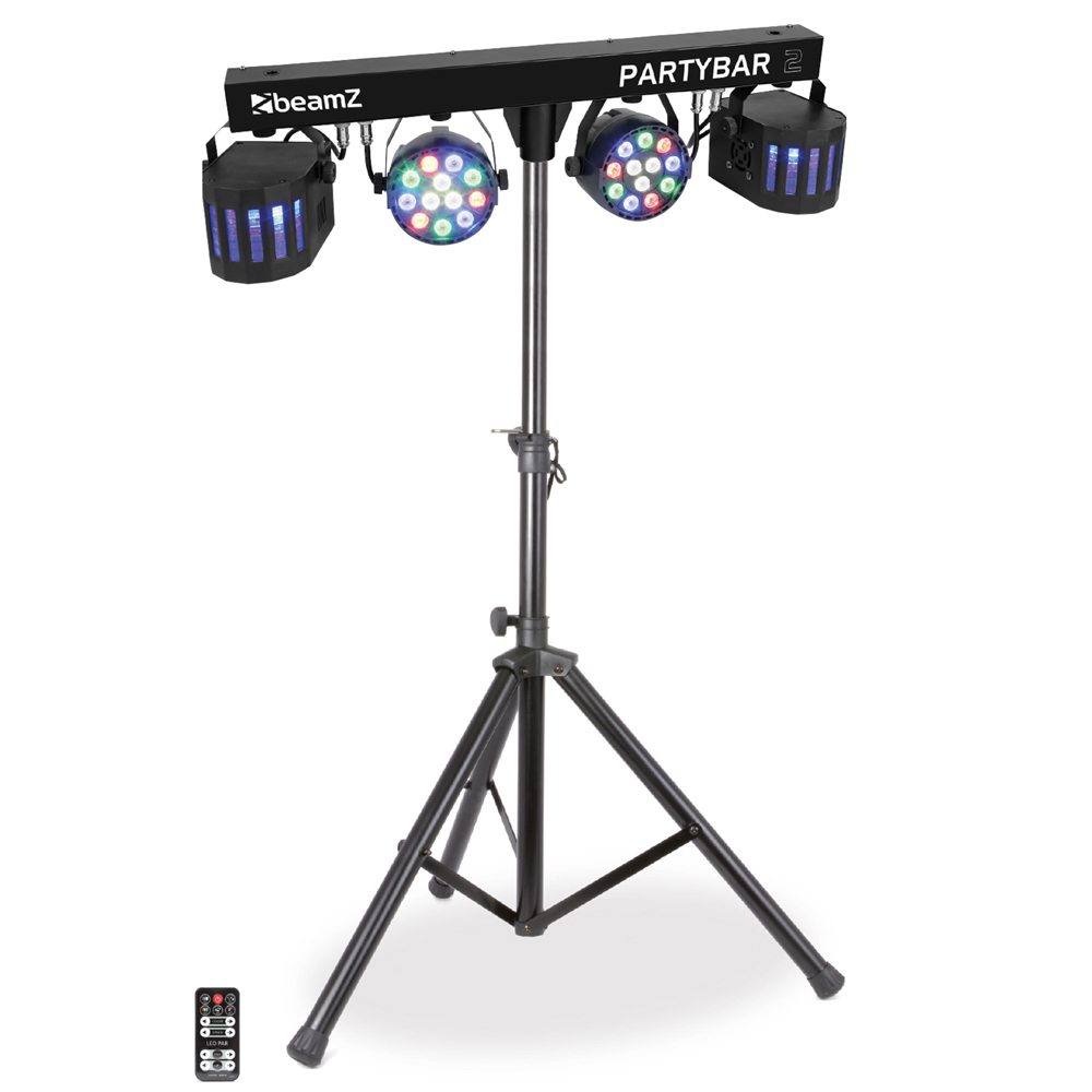 BeamZ LED Partybar2 Lighting Bar Set