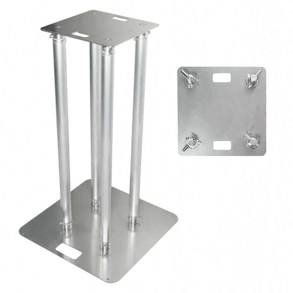 vonyx professional mobile dj truss plinth lighting stand club light podium. Black Bedroom Furniture Sets. Home Design Ideas