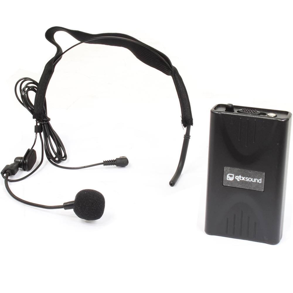 single headband headset vhf wireless dj pa instructor microphone mic system 50m ebay. Black Bedroom Furniture Sets. Home Design Ideas