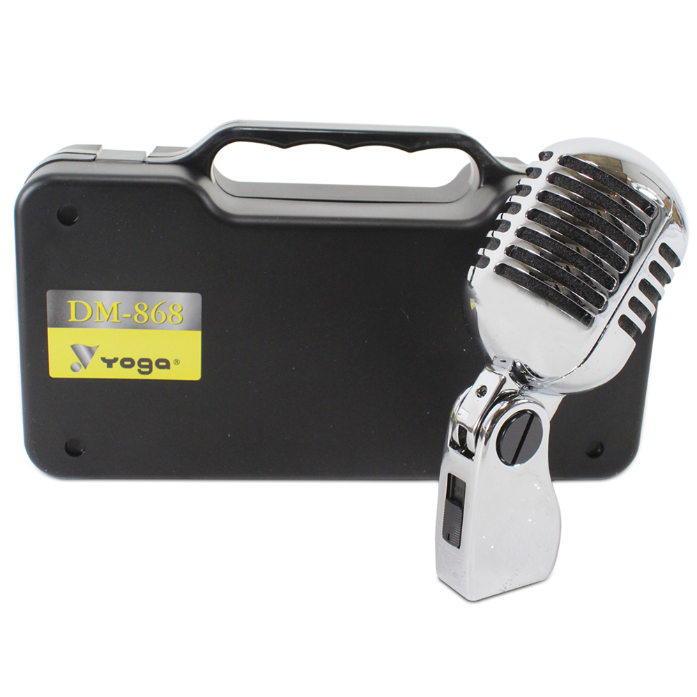 Retro 50s classic elvis style vocal microphone stage show for Classic house vocals acapella