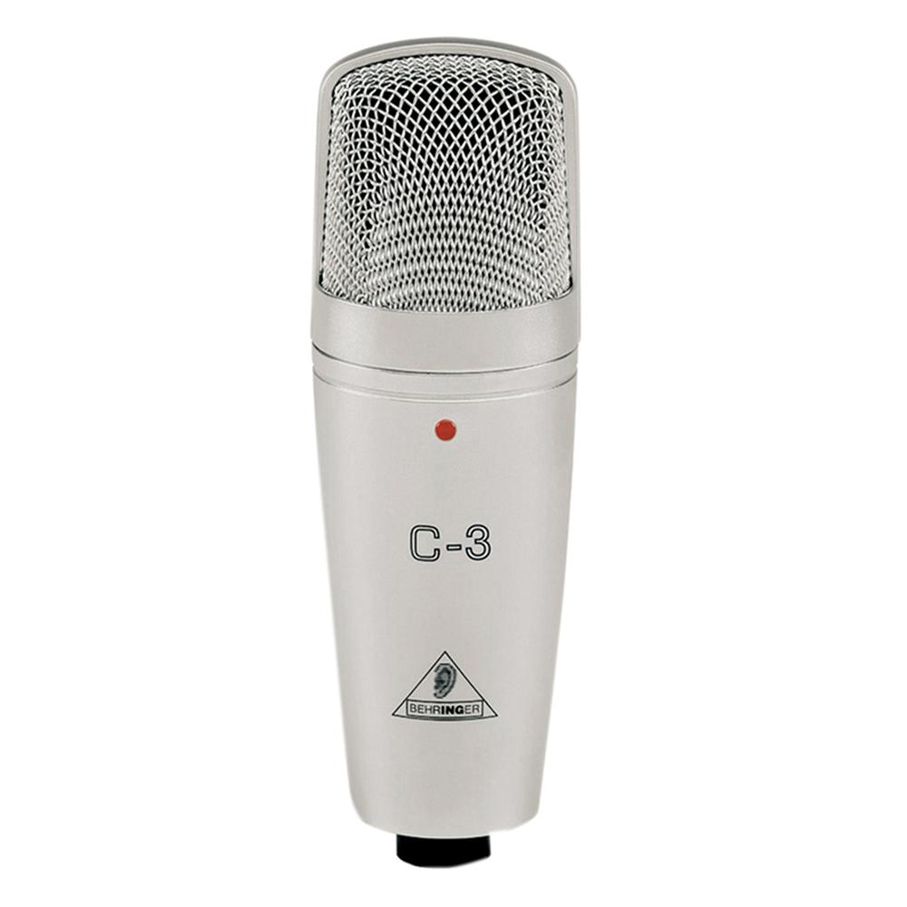 Behringer C-3 Large Dual-Diaphragm Studio Condenser Microphone